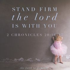 Stand firm in the Lord. Do not fear. Trust in Him. He will fight your battles for you. Stay in faith.