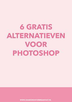Wil je je foto's bewerken en/of mooie graphics maken, maar vind je Photoshop te duur? Vandaag deel ik de 6 beste alternatieven voor Photoshop, die allemaal helemaal gratis zijn!