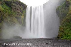 World of Waterfalls. Map of Iceland waterfalls and directions to find them.