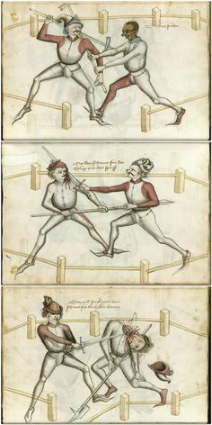 Talhoffer's name appears again in the records of the city of Zürich in 1454, where he was chartered to teach fencing in some capacity and to adjudicate judicial duels. The account notes that a fight broke out among his students and had to be settled in front of the city council, resulting in various fines.He seems to have passed through Emerkingen later in the 1450s, where he was contracted to train the brothers David and Buppellin vom Stain. Hans Thalhofer 1459