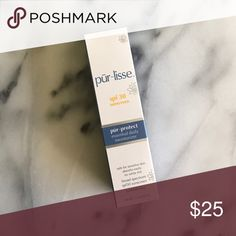 Pur~lisse pur~protect SPF 30 Moisturizer SPF Moisturizer great for under makeup! pur~lisse Makeup