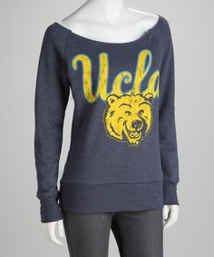 NCAA Favorites: Apparel & Accessories on #zulily -- Listen, I'm not a UCLA fan, but this looks like the most comfortable sweatshirt in the history of sweatshirts, so I just might need to get this.