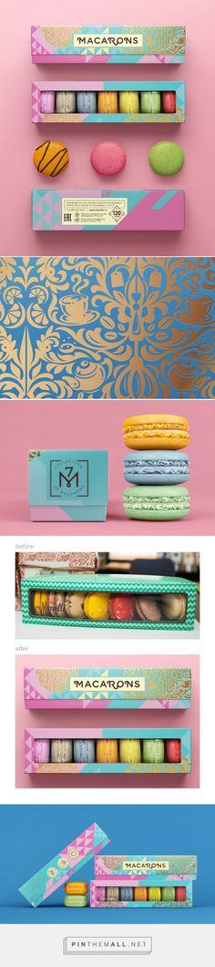 #Macarons designed by BimBom - http://www.packagingoftheworld.com/2015/05/macarons.html