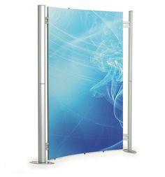 Fusion Versa 1x Curved Frames Outdoor Banners, Display Stands, Frames, Frame