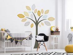 Wandtattoo Kinderzimmer Baum Mit Pastellfarben In Turkis Und Mint Wandsticker Deko Furs Kinderzimmer Kuche Haushalt Wohnen