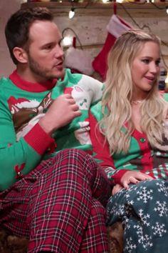 Get Into the Holiday Spirit by Watching Jennifer Lawrence and Chris Pratt Kill Santa