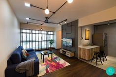 Renovation Journey: A Burst Of Colours In This Industrial Pad | Article | Qanvast | Home Design, Renovation, Remodelling & Furnishing Ideas