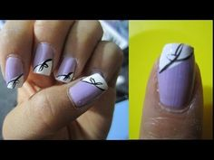 Lilac & Bows Summer Nails Tutorial
