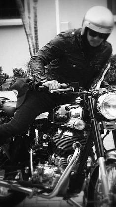 Royal enfield vintage riders