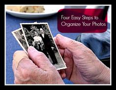 Housewife Eclectic: Four Easy Steps To Organize Your Photos with Adrian of Adrian's Crazy Life