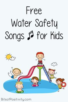 Free water safety song videos for kids at a variety of ages; non-scary songs to help prevent drownings - Bits of Positivity #preparedness #watersafety #safety #summer Songs For Toddlers, Kids Songs, Family Safety, Child Safety, Swim Lessons, Lessons For Kids, Safety Crafts, Preschool Songs, Summer Themes For Preschool