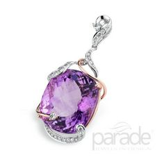 Parade Design Diamond & Gemstone Pendant