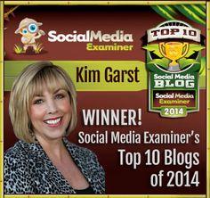 Social Media for Business Owners - Kim Garst, Branding, Social Media, Wordpress Needs