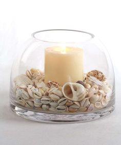 25 Sea Shell Crafts and Unique Table Centerpiece Ideas: Lovely to display shells Seashell Art, Seashell Crafts, Beach Crafts, Diy Crafts, Seashell Bathroom, Seaside Decor, Coastal Decor, Seaside Theme, Coastal Style
