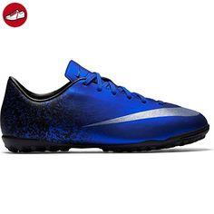 Nike Unisex-Kinder JR Mercurial Victory V CR TF Fußballschuhe, Blau (Deep  Royal
