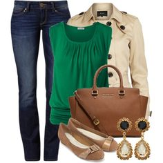 A fashion look from March 2014 featuring VILA jackets, Mavi jeans y Monsoon flats. Browse and shop related looks.