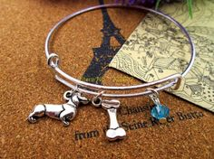 Dachshund 65mm bracelet bangles antique silver with 3D Dogs Bones. Gender:UnisexMaterial:SilverDiameter:65mmMetals Type:Zinc AlloyStyle:TrendyPlating:Silver PlatedShape\pattern:RoundFine or Fashion:FashionBracelets Type:Bangles