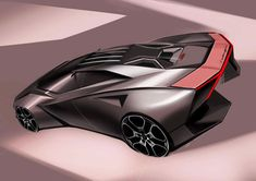 Gallery of design works sent for the initiated by Car Design Pro Lamborghini Concept, Lamborghini Cars, My Dream Car, Dream Cars, Motorbike Design, Fast Sports Cars, Top Luxury Cars, Futuristic Cars, Car Sketch