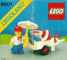 LEGO 6601-1: Ice Cream Cart | Brickset: LEGO set guide and database