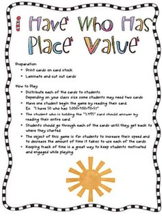decimal place value task cards 5th grade ccss game decimal and places. Black Bedroom Furniture Sets. Home Design Ideas
