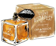 """Inspired by the Wes Anderson film, """"The Grand Budapest Hotel"""""""