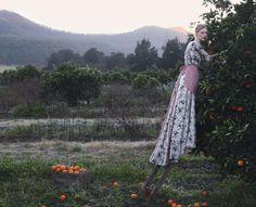 Julia Nobis by Stephen Ward for Vogue Australia October 2013