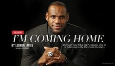 Dan Gilbert's Apology Letter to LeBron (Video) - The1stClassLifestyle.com Coming Home Movie, Im Coming Home, Going Home, Lebron James Cleveland, Cleveland Cavs, Cleveland Rocks, Games For Boys, Sports Marketing, Nba Season