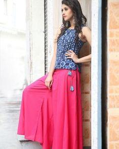trendy plus size jogging suits 50 best outfits Kurta Designs, Blouse Designs, Simple Dresses, Casual Dresses, Fashion Dresses, Indian Designer Outfits, Designer Dresses, Plazzo Pants Outfit, Indian Dresses