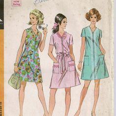 A Retro 1969 Duster / Dress Pattern