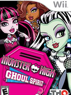 Monster High Ghoul Spirit Wii juego oficial | Juegos Monster High - jugar online