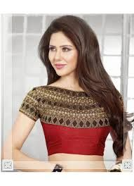 latest saree blouse designs for silk sarees - Google Search