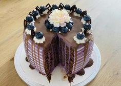Čučoriedková torta, recept | Tortyodmamy.sk Dessert Recipes, Desserts, Cake, Food, Tailgate Desserts, Deserts, Kuchen, Essen, Postres