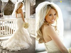 wedding style for hair and bloom magazine feature veil hair bridal hair 4182