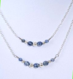 Sodalite Blue Double layer Necklace