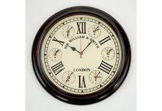 Marine 7 Time Zone World Clock Nautical Clocks, Nautical Wall Decor, World Clock, Time Zones, Aesthetic Bedroom, Coastal, Decorating, Decor, Decoration