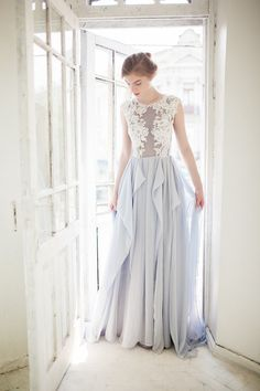 6 Coloured (but subtle) Wedding Dresses You Will Fall In Love With!