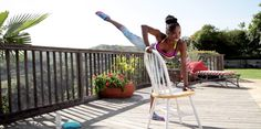 Definitely works!!! =)  8 Exercises You Can Do With a Chair  -Cosmopolitan.com