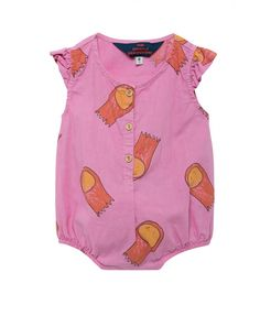 Butterfly Babies Suit / Fuchsia Halleys - BABY GIRL - Products
