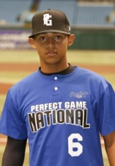 A very young ball-playing Rougned Odor.