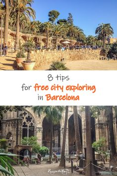 Yes yes yes, free city exploring tips, that is what we love when traveling on the budget :-) Cheap Travel, Budget Travel, Visit Barcelona, Barcelona Spain, Pergola, Europe, Outdoor Structures, Explore, City