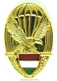 Parachute wings-Hungary(Gold)