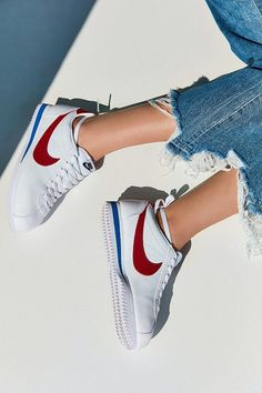 Nike Classic Cortez Premium Sneaker // style me grasie : style me wants - red, white, blue