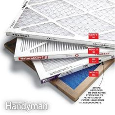 A high-efficiency furnace filter can slow airflow too much, but low-efficiency filters don& filter dust very well. Get a better understanding of the issues and learn how to find the right filter for your furnace. Furnace Maintenance, Furnace Filters, Heating And Cooling, Heating Systems, Home Repair, Handyman Projects, Diy Projects, Project Ideas, Hvac Companies