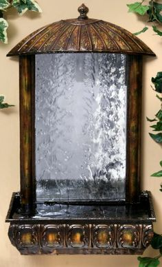Tau Wall Fountain - Solar Water Fountain