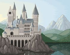 "Check out new work on my @Behance portfolio: ""Hogwarts pixel art""…"