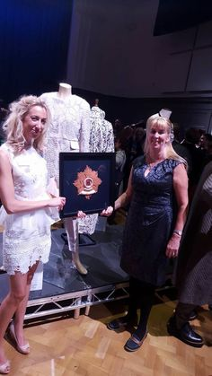 Bronze award for International Hand and lock prize 2016 offically 3rd in the world for handcraft skills in fashion ! #couture beading #tambourbeading #hautecouture #handandlockprize #couture #fashion #designer