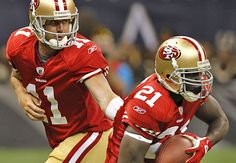 #Alex Smith #11 and Frank Gore #21 (49ers)