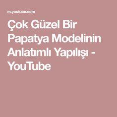 Çok Güzel Bir Papatya Modelinin Anlatımlı Yapılışı - YouTube Youtube, Model, Scale Model, Youtubers, Models, Template, Youtube Movies, Pattern