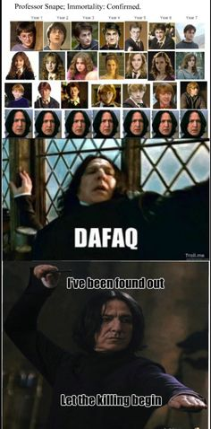 Funny Snape immortality