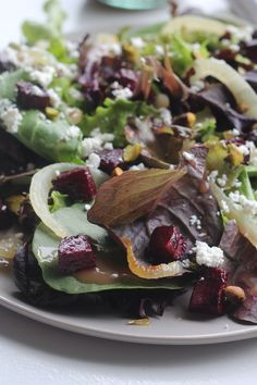 ... about BEETS on Pinterest | Roasted beets, Beet salad and Beet recipes